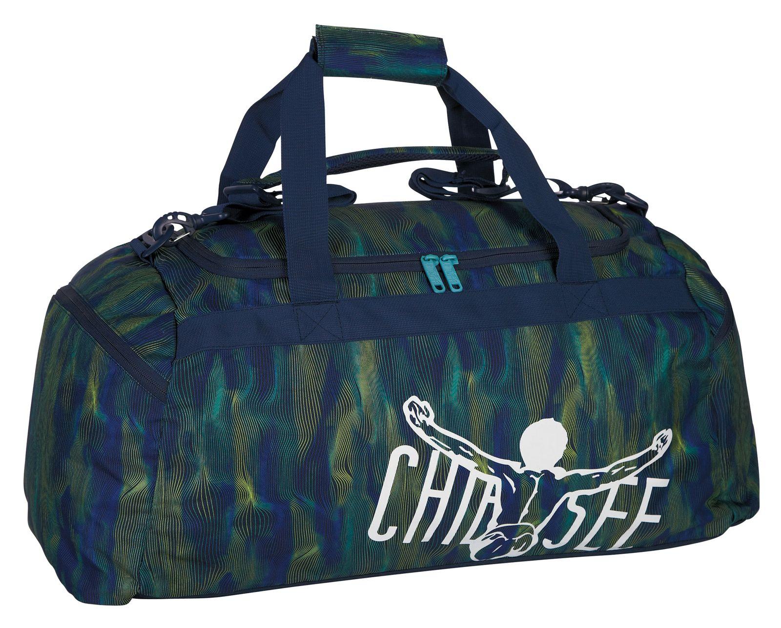 4225cf4bf7d2b CHIEMSEE Matchbag Large Line Dance Blue