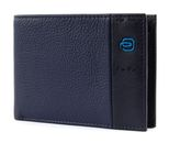 PIQUADRO Pulse Classic Wallet Blu Notte buy online at modeherz