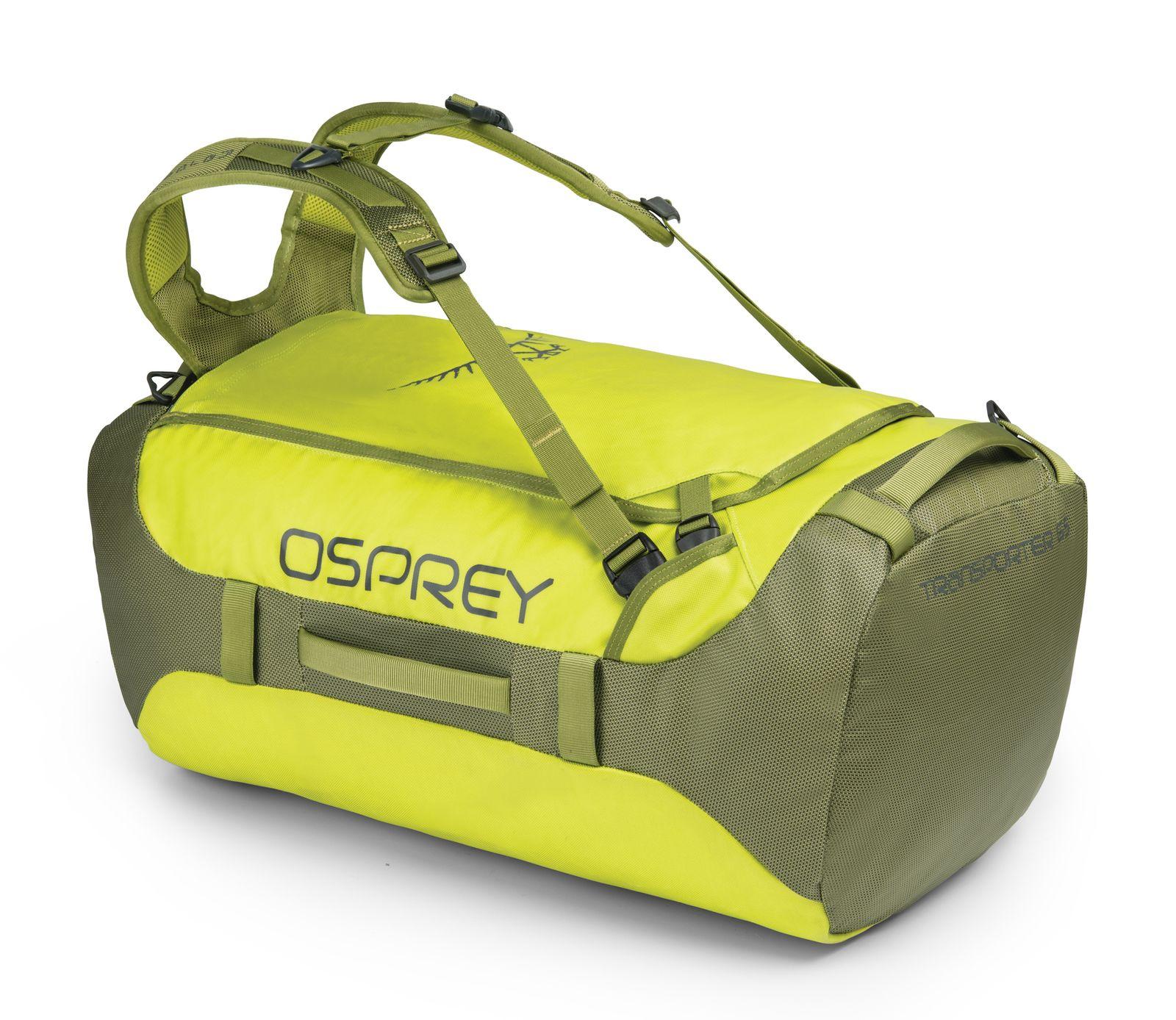 Osprey Transporter 65 Rucksack Reisetasche Tasche Sub Lime