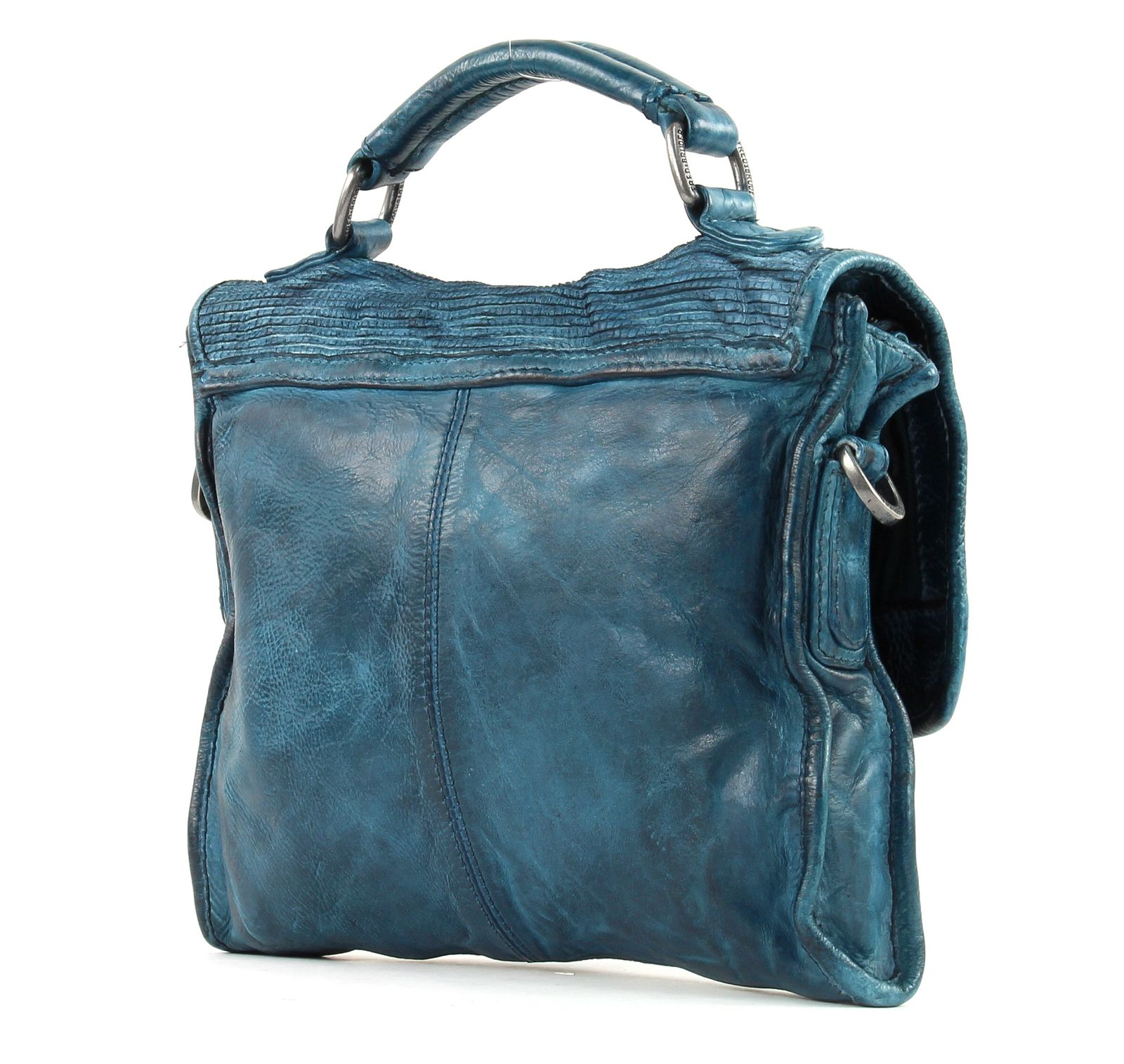 fredsbruder epic mini handtasche umh ngetasche tasche blue petrol blau neu ebay. Black Bedroom Furniture Sets. Home Design Ideas
