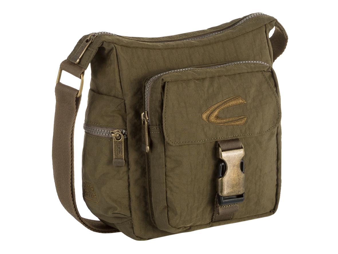 1e6e12f273 camel active Journey Shoulder Bag Khaki