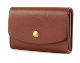 FOSSIL Mini Wallets Flap Card Case Brown online kaufen bei modeherz