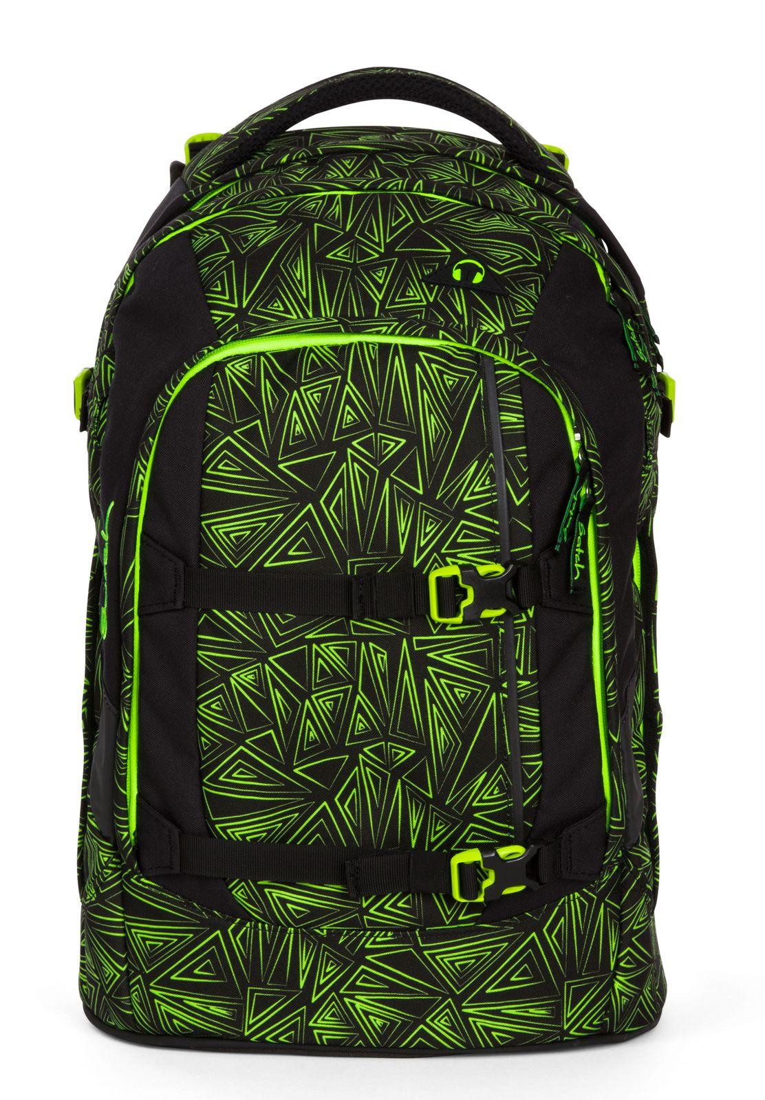 5524d04528cf8 satch Pack Schulranzen Rucksack Schulrucksack Tasche Green Bermuda ...