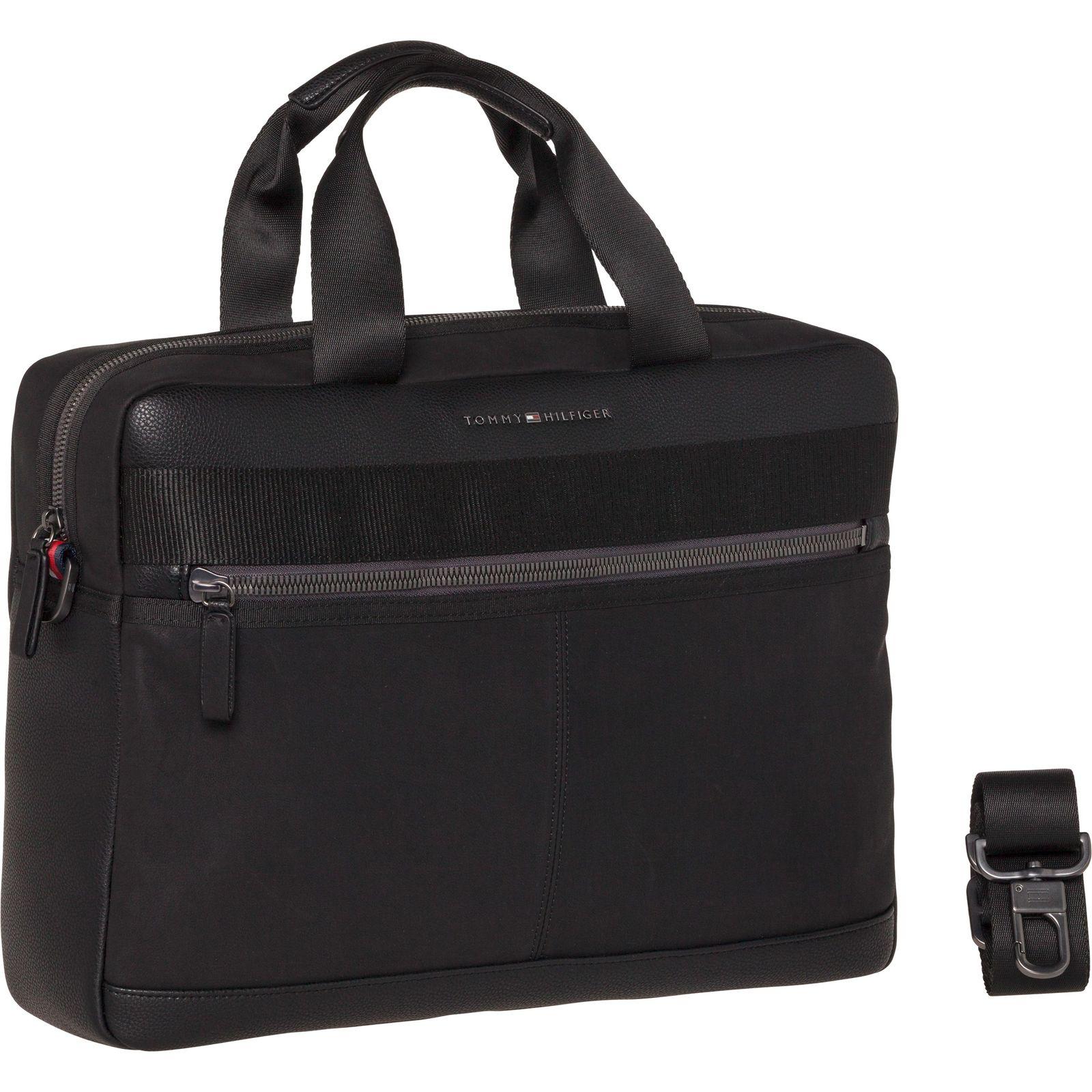 99f12f63429 TOMMY HILFIGER Playful Novelty Computer Bag Black