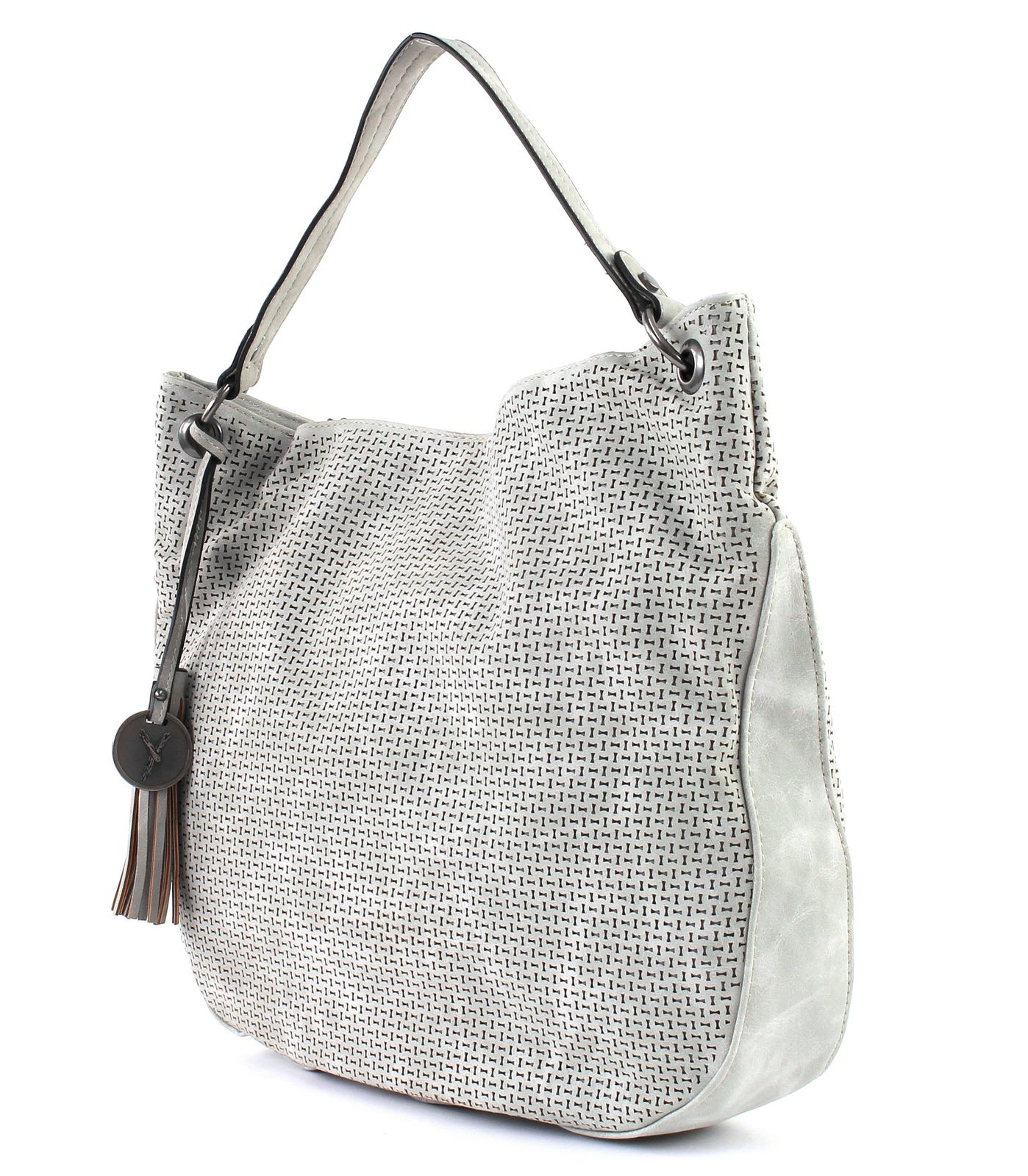 SURI FREY Izzy Hobo Bag Light Grey