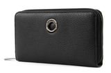 MANDARINA DUCK Mellow Leather Zip Around Wallet L Black buy online at modeherz