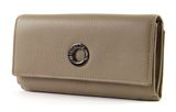 MANDARINA DUCK Mellow Leather Wallet with Flap L Simply Taupe online kaufen bei modeherz