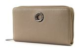 MANDARINA DUCK Mellow Leather Zip Around Wallet L Simply Taupe buy online at modeherz