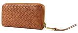 Marc O'Polo Woven Zip Wallet L Cognac online kaufen bei modeherz