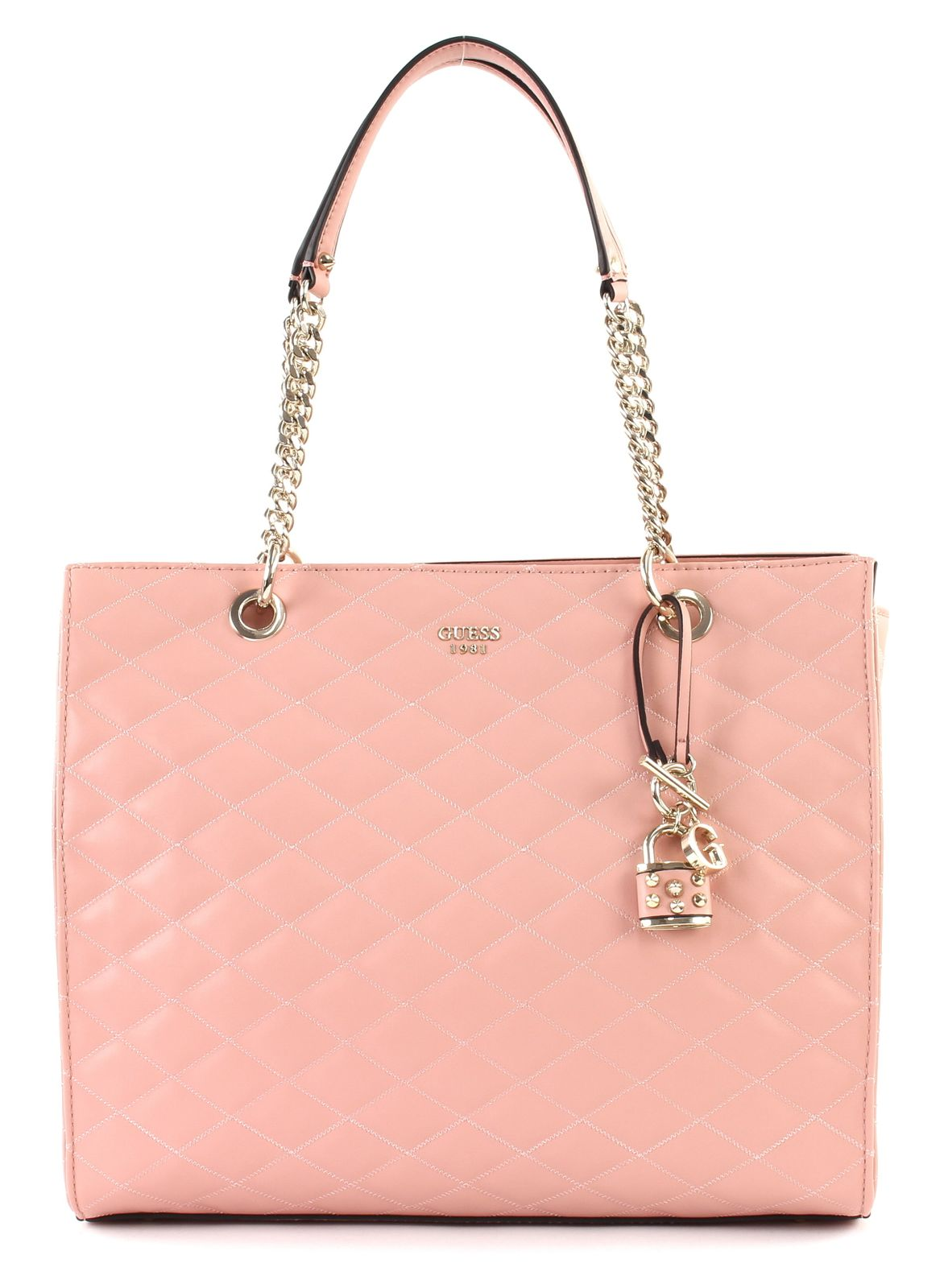 GUESS Penelope Shopper Schultertasche Shopper Tasche Rose