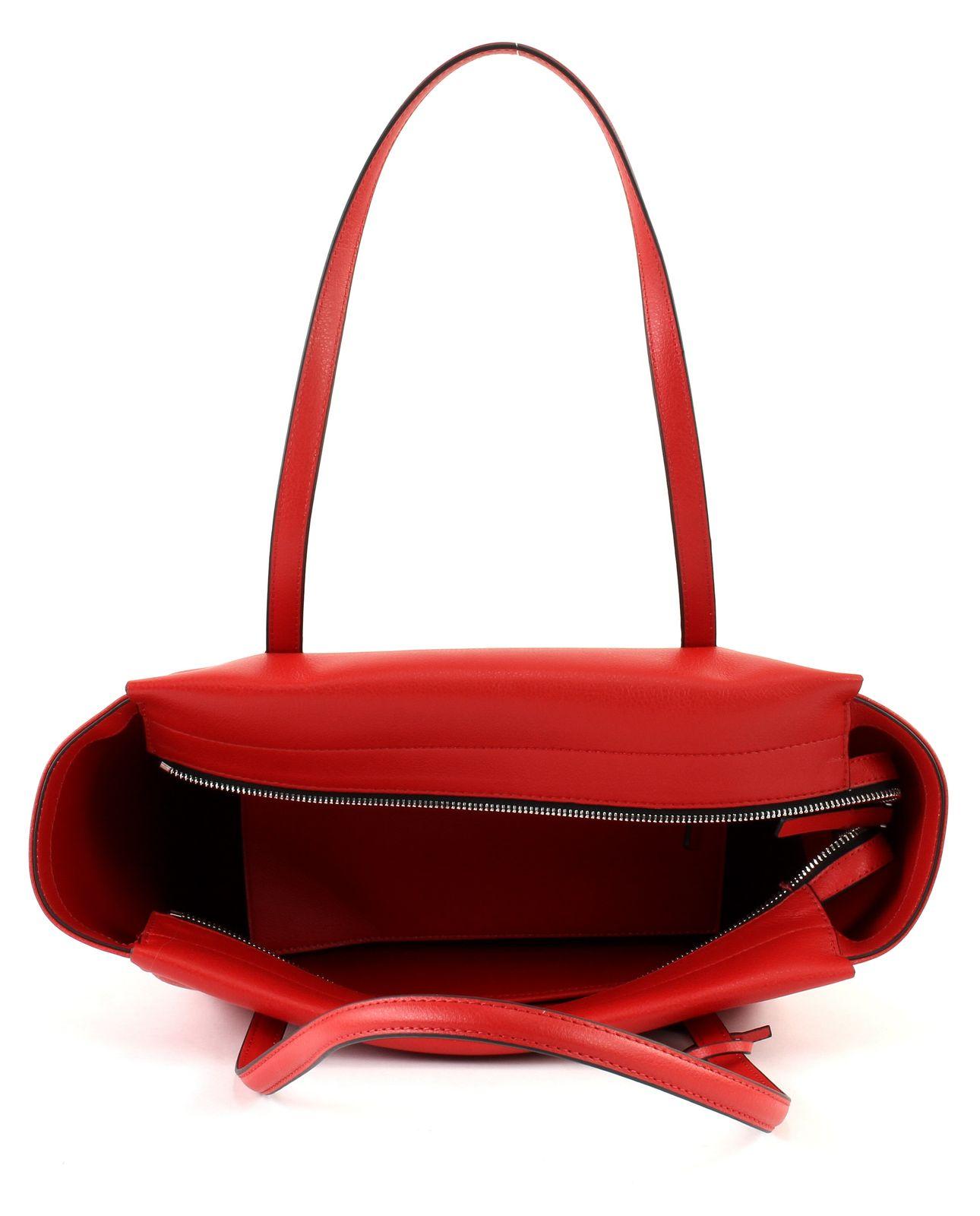 Calvin Klein FRAME LARGE SHOPPER - Handtasche - scarlet L0EtA7k
