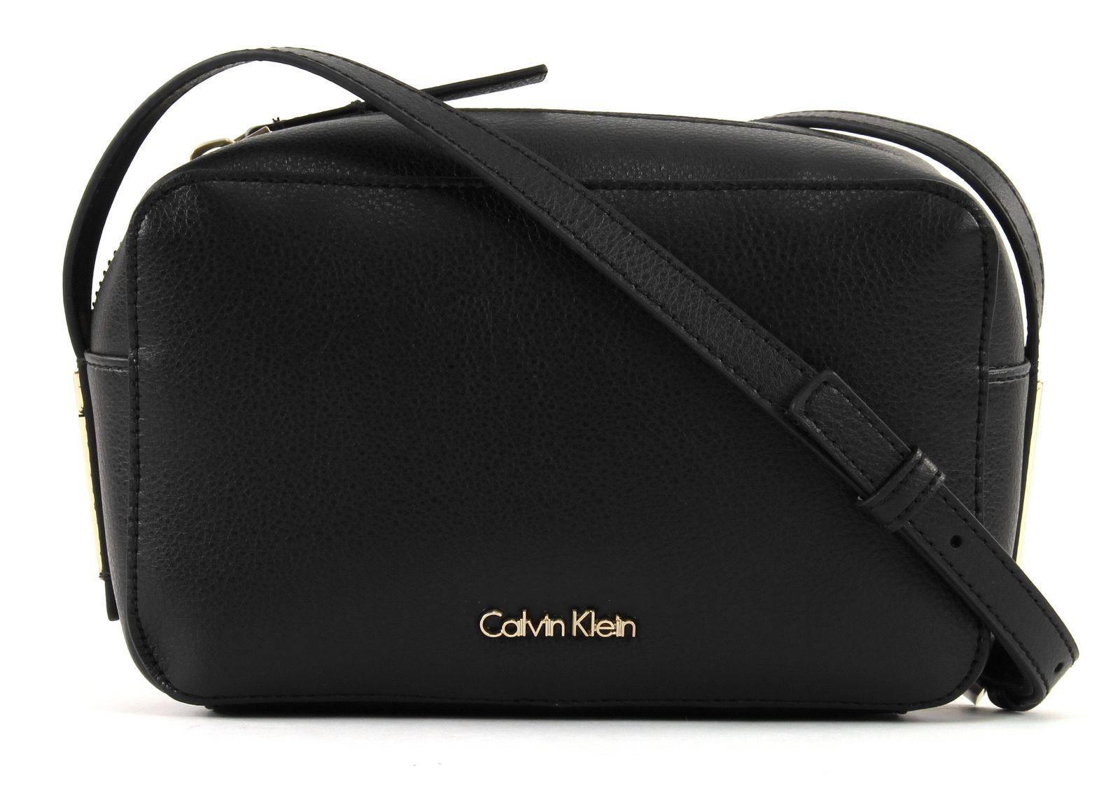 14f88699a4512 Calvin Klein Frame Camera Bag Umhängetasche Abendtasche Tasche Black ...