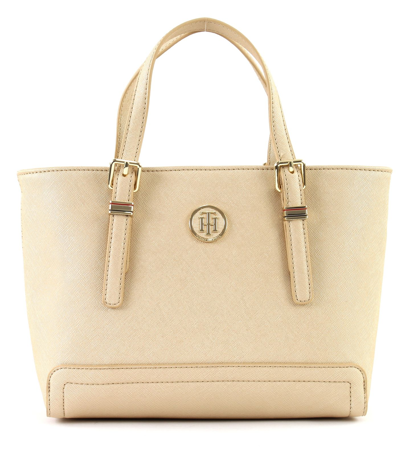fc7ba41e299f3 Tommy Hilfiger Tasche »HONEY SMALL TOTE« goldfarben Gold Footaction ...