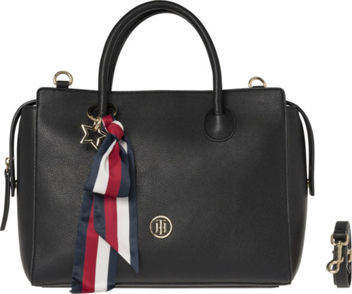 2acd27f518 TOMMY HILFIGER Handtasche Charming Tommy Satchel