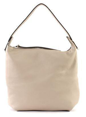 COCCINELLE Mila Hobo Bag Seashell Beige / Braun