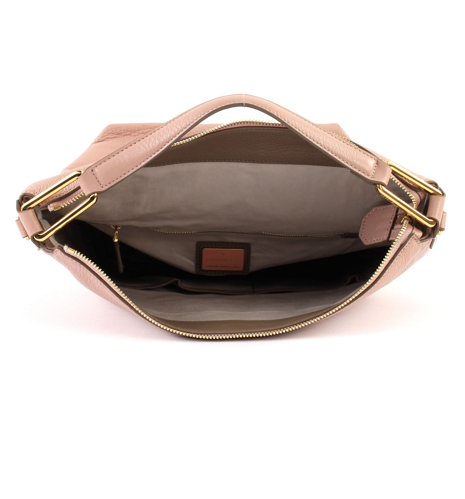 878ee260dd38 ... 01 01 321COCCINELLE Liya Small Hobo Bag Pivoine   Taupe   237