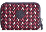 kipling Basic Eyes Wide Open Abra Medium Wallet Pink Chevron online kaufen bei modeherz