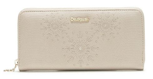 Desigual Caliope Fiona Long Wallet Marfil