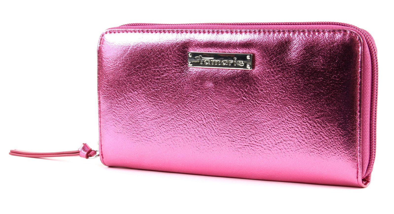 95c38f0dd8cc Tamaris DEBRA Big Zip Around Wallet Pink