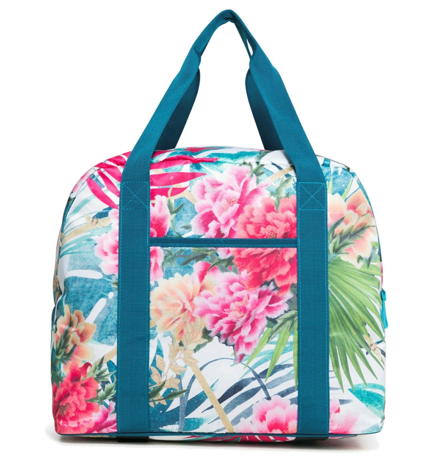 Desigual Oriental Shoulder Bag Sporttasche Schultertasche Tasche Blanco Weiß