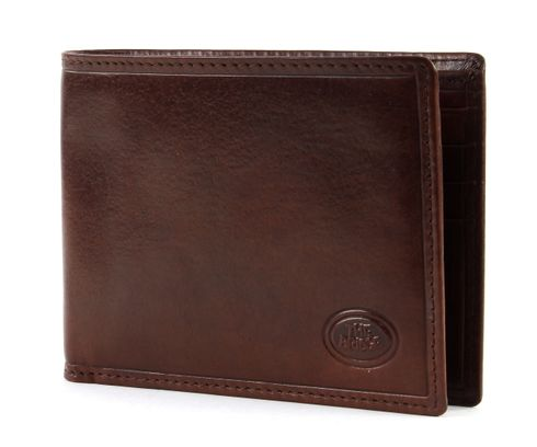 THE BRIDGE Story Uomo Men's Wallet Cross Marron​e