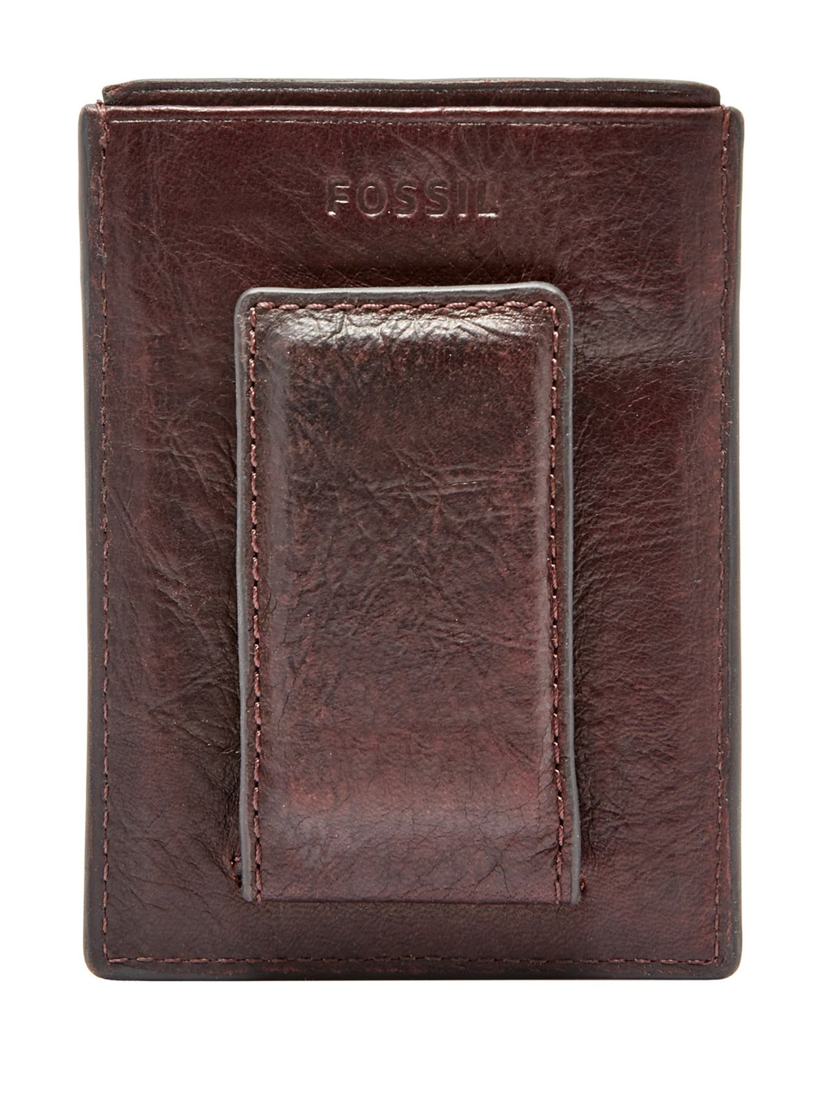 Fossil Ingram Magnetic Card Case Credit Business Card Holder