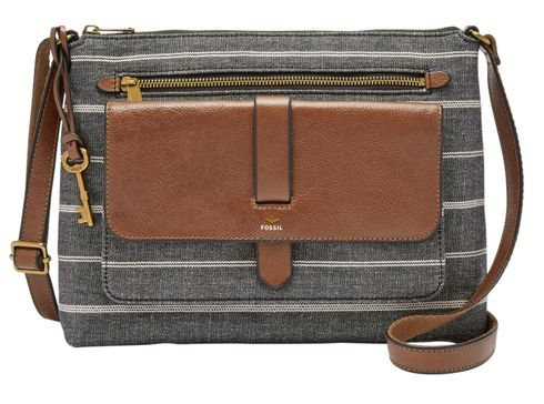FOSSIL Kinley Crossbody Chambray