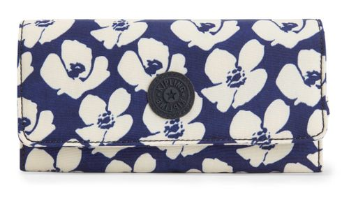 kipling Basic Eyes Wide Open Brownie Large Wallet Bold Flower