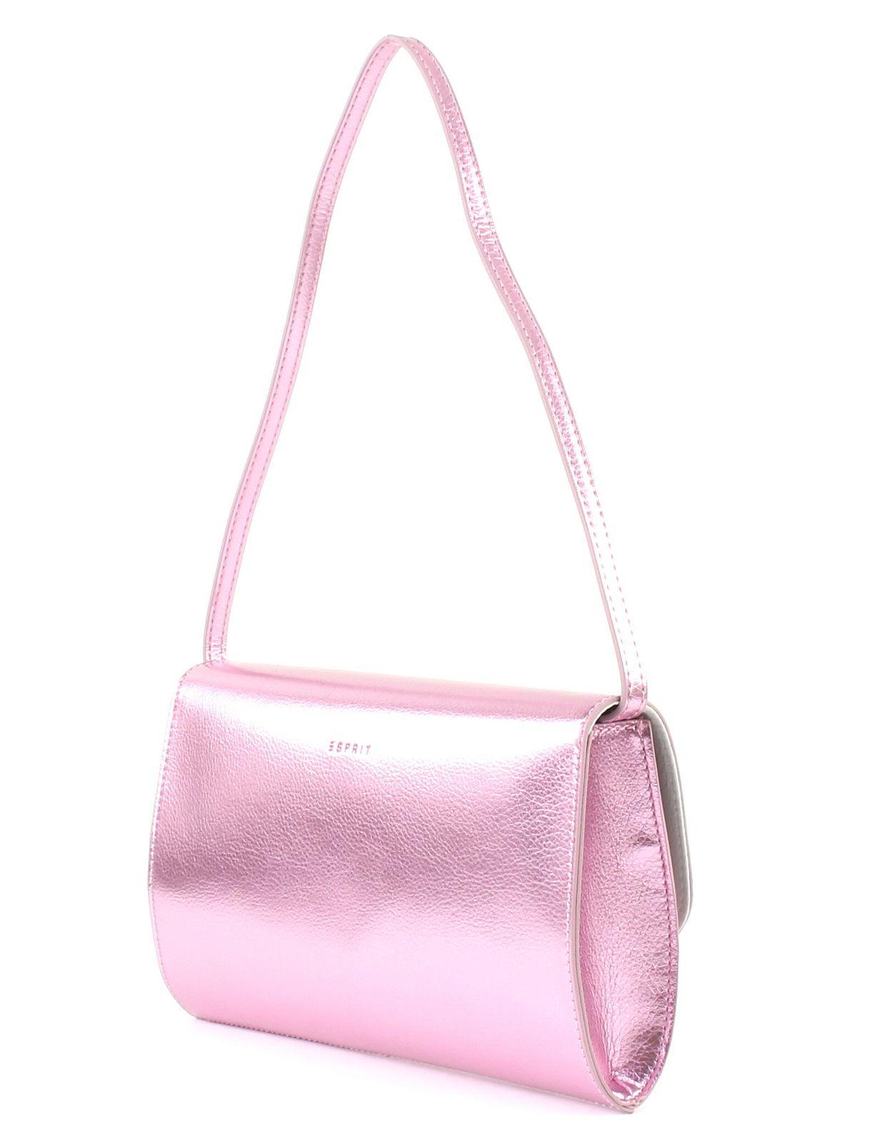 5a6b2c9c83c3f ESPRIT Diva Baguette Clutch Schultertasche Tasche Light Pink Rosa ...