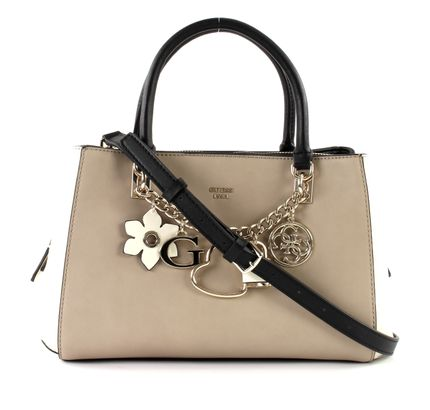 Guess Multi Hadley Satchel Taupe Girlfriend fw8xqf0