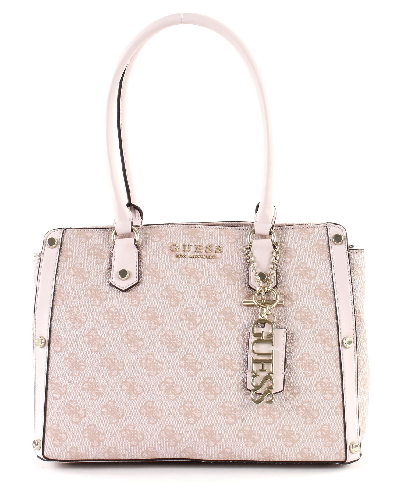 3ea80475f4 GUESS Shoulder Bag Florence Medium Satchel Rose