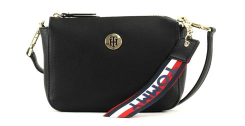 TOMMY HILFIGER Charming Tommy Flap Black / Gold