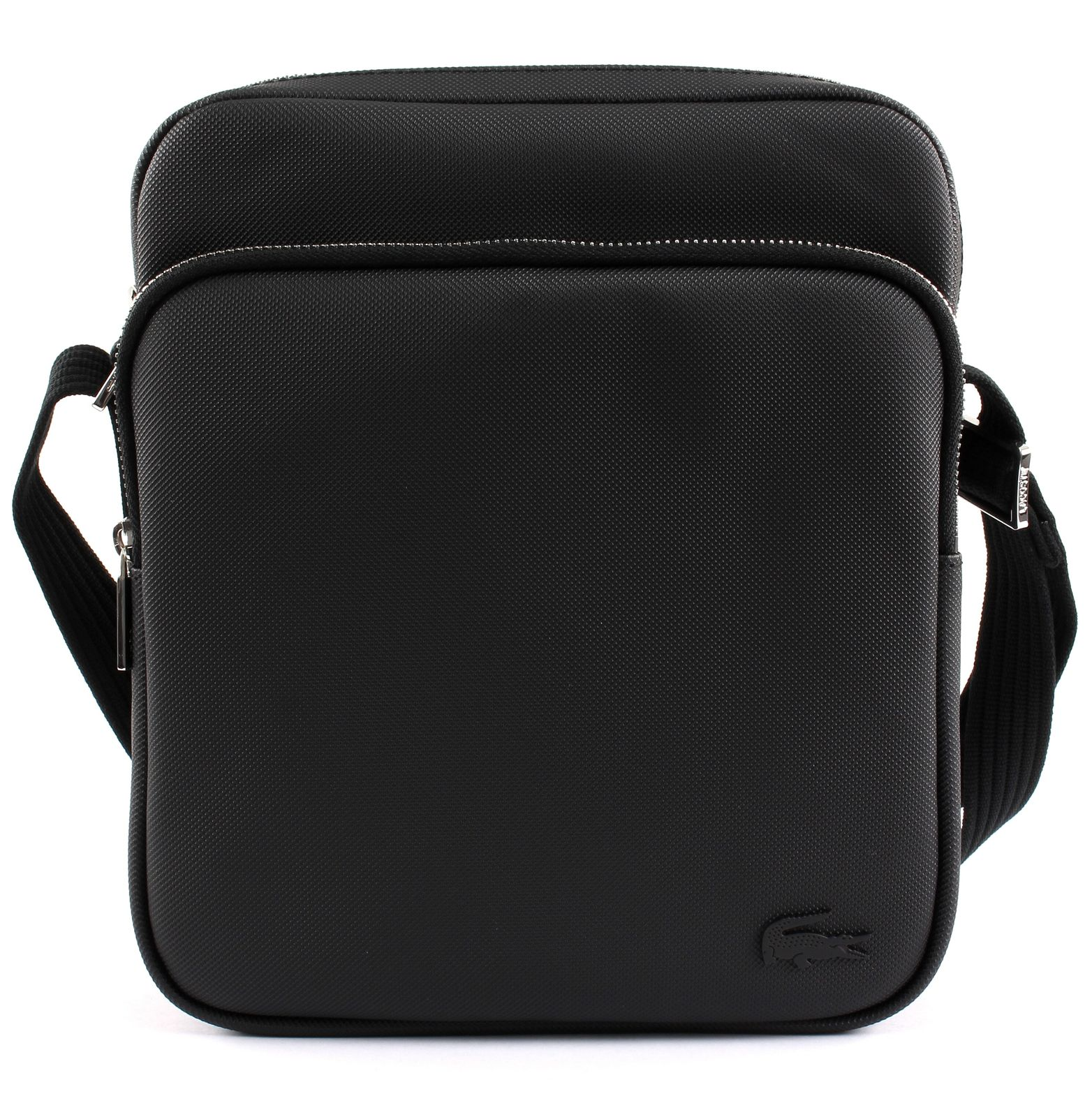 34b8d5f3 LACOSTE Men's Classic Crossover Bag Black