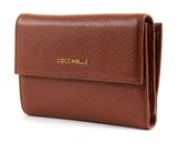COCCINELLE Metallic Soft Flap Wallet Brule buy online at modeherz