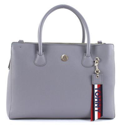 TOMMY HILFIGER Charming Tommy Work Silver Filigree / POW Check