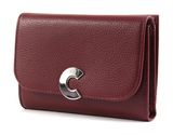 COCCINELLE Craquante Small Flap Wallet Grape buy online at modeherz