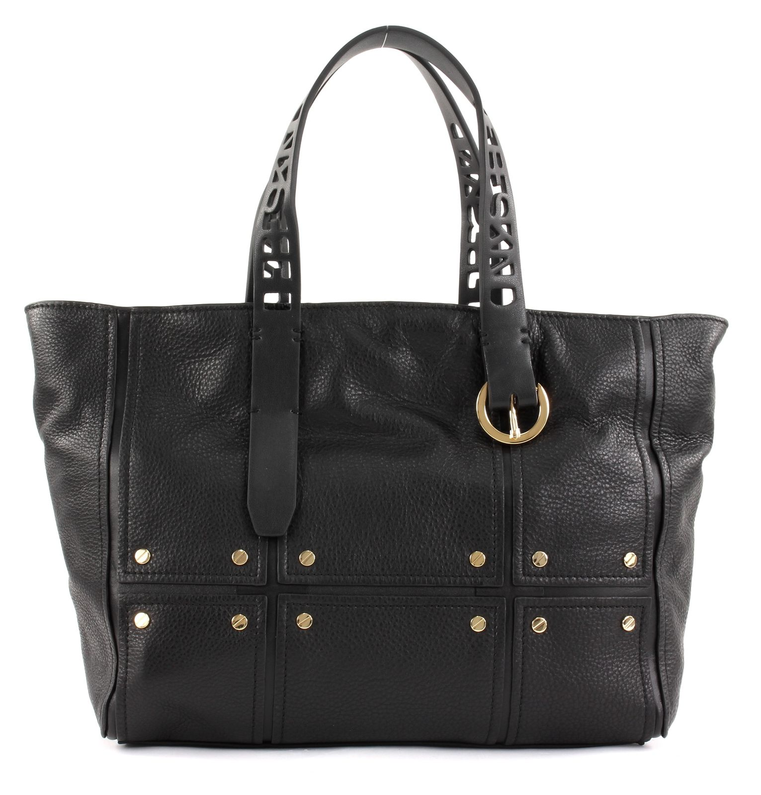 7d710597cee93 LIEBESKIND BERLIN Mix N`Patch Pepple Tote M Handtasche Tasche Black ...