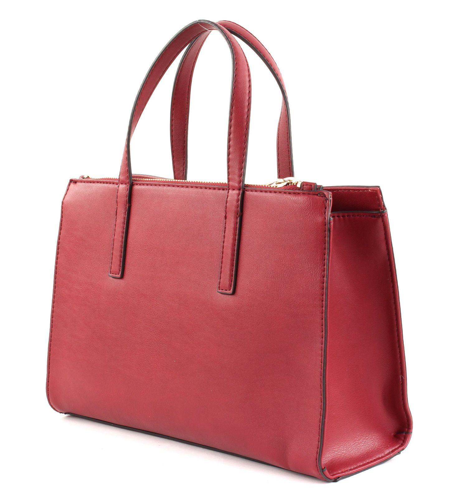 GUESS Handbag Sienna 2 in 1 Society Satchel Red 4c90b1ff0d
