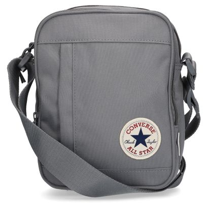 b86e3365f6d44 CONVERSE Umhängetasche Poly Cross Body Cool Grey