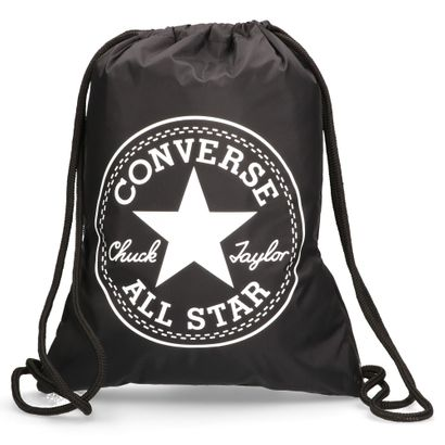 3bf0709aa8 CONVERSE Backpack Flash Gymsack Black