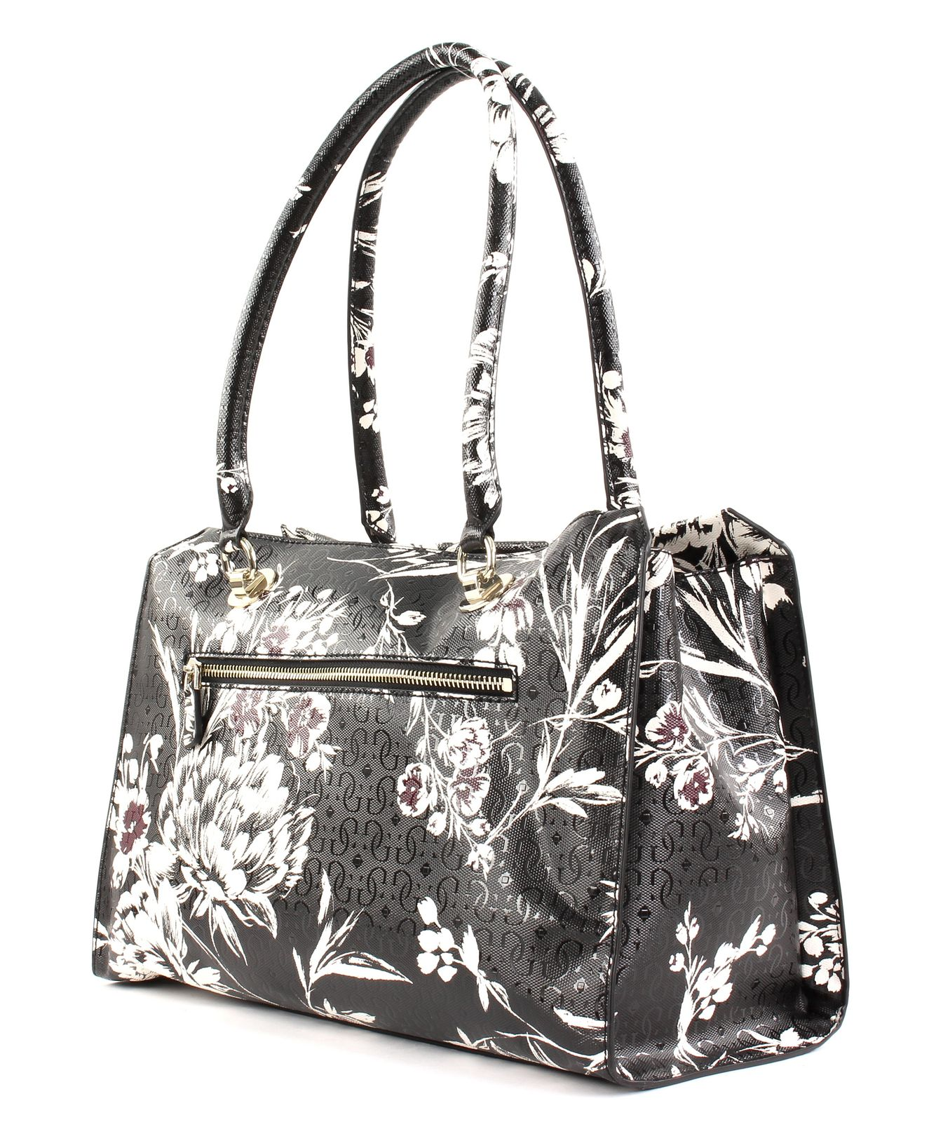 af556e3773 GUESS Tamra Society Carryall Black Floral