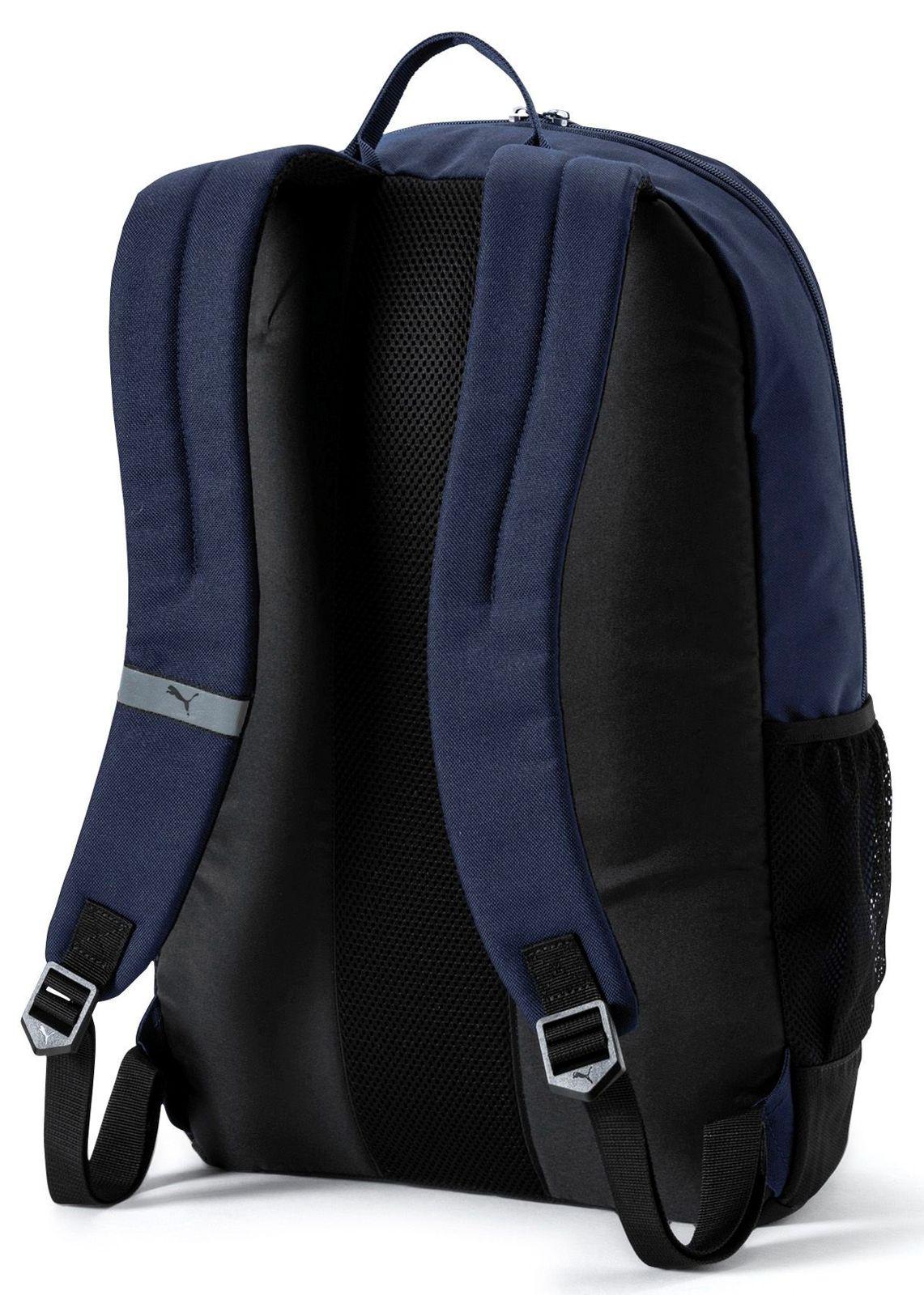 ea830611ca632 PUMA Deck Backpack Rucksack Tasche Peacoat Blau Rot Neu