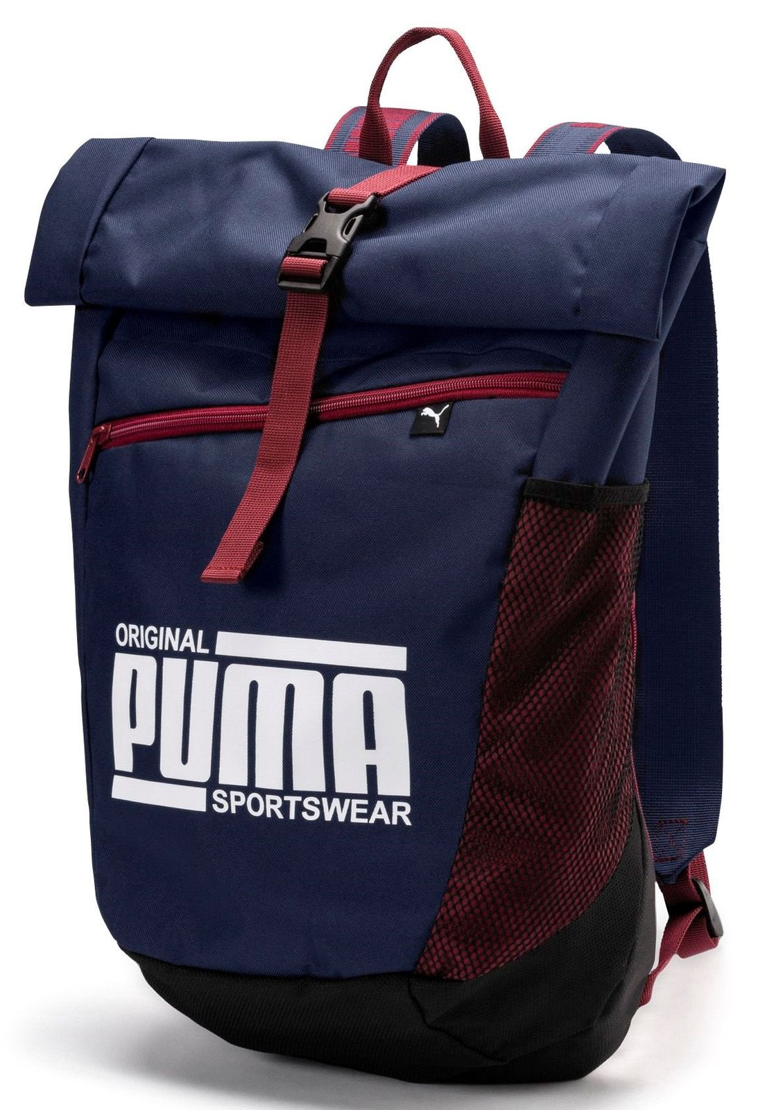 d4dedbdb4c12c PUMA Sole Backpack Rucksack Tasche Peacoat Blau Rot Neu