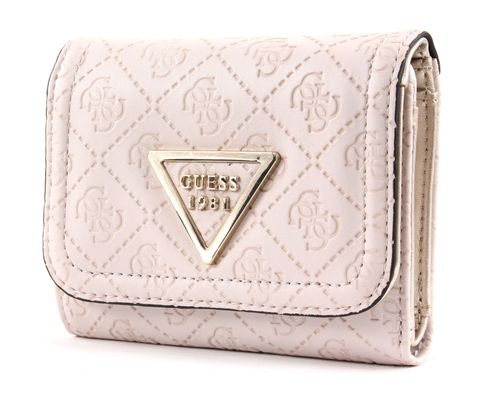 GUESS Lyra SLG Small Trifold Stone