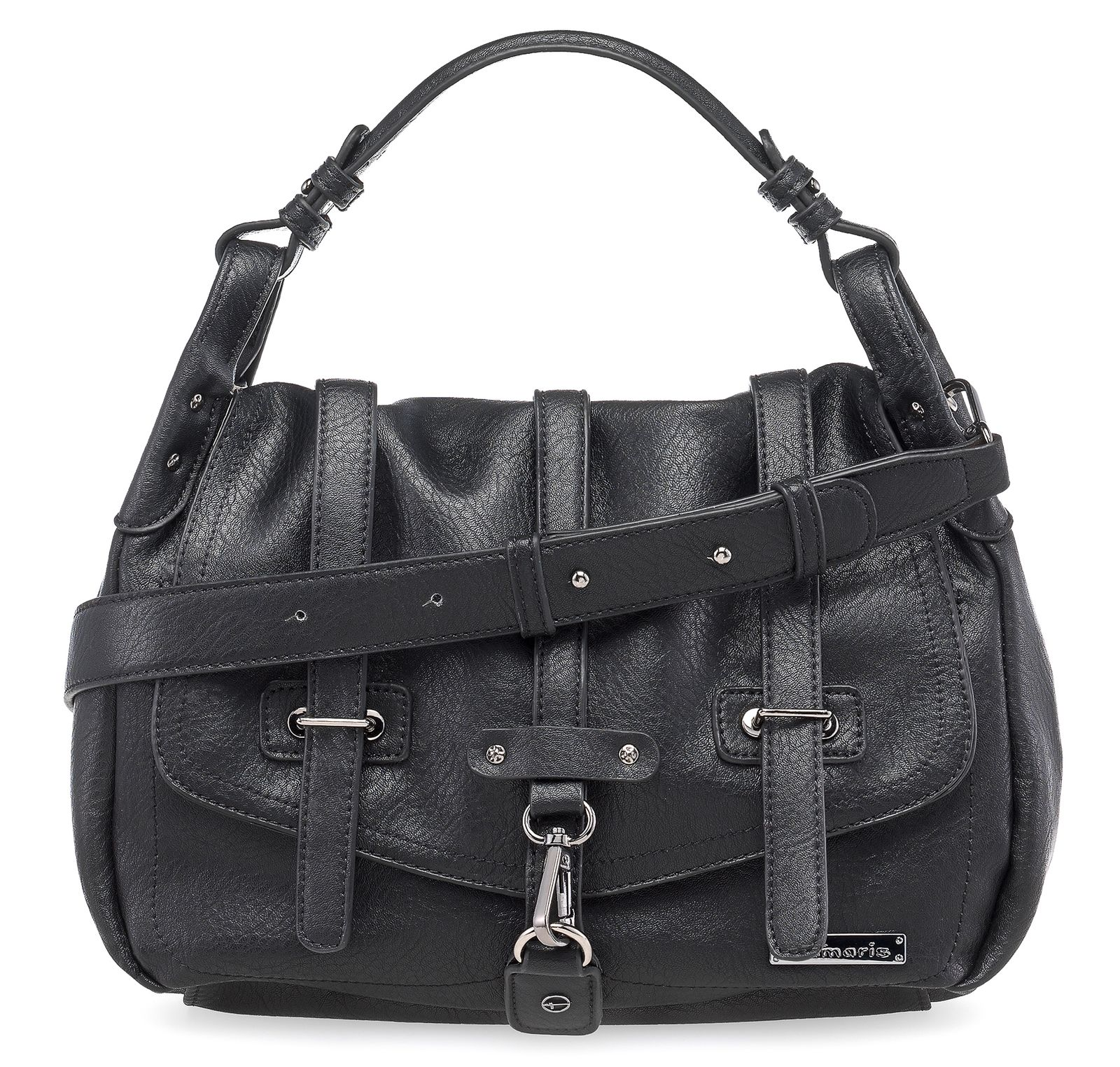 Tamaris Bernadette Satchel Bag Black