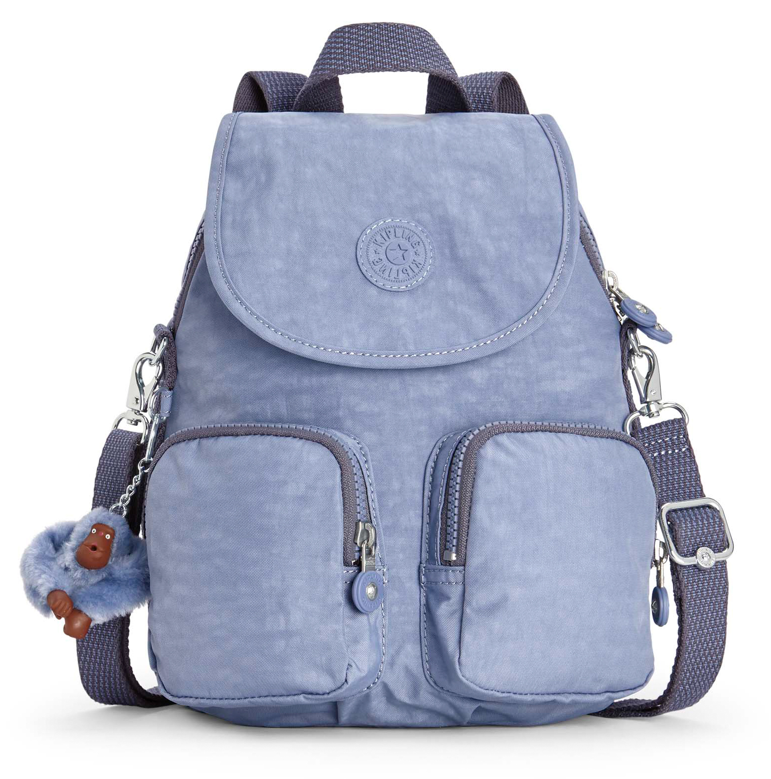 e6fe5f43d44 kipling Firefly Up Small Backpack Timid Blue C