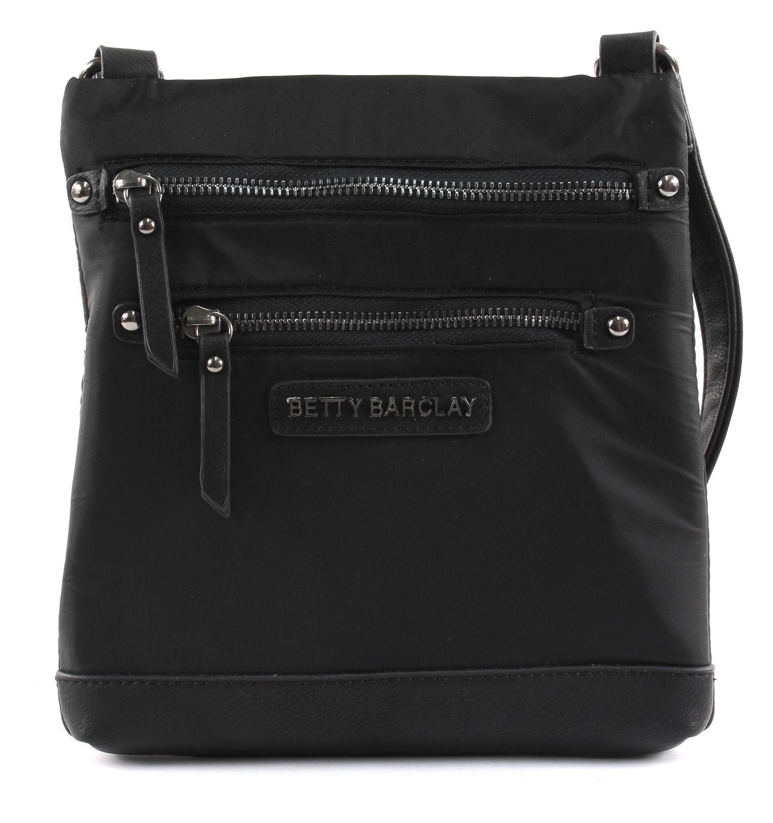 23733bf5a799e Betty Barclay Zip Bag Umhängetasche Tasche Black Schwarz Neu