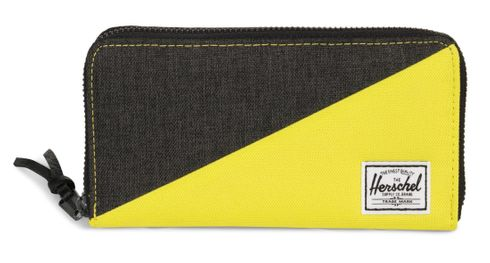 Herschel Thomas RFID Wallet Black Crosshatch / Evening Primerose