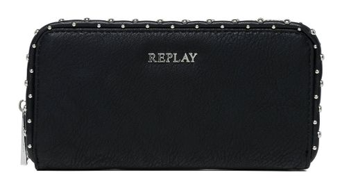 REPLAY Eco-Leather Wallet Black