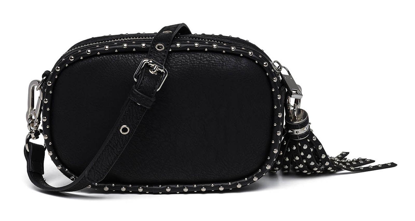 abb699bc9a03 A0180B.261REPLAY Eco-Leather Crossbody Bag Black   89